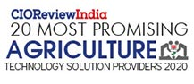 20 Most Promising Agriculture Technology Solution Providers - 2020